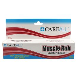 72 Units of Careall 3 Oz. Muscle Rub - First Aid and Bandages