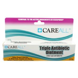 72 Units of Careall 1 Oz. Triple Antibiotic Ointment - First Aid and Bandages