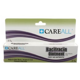 72 Units of Careall 1 Oz. Bacitracin Zinc Ointment - First Aid and Bandages