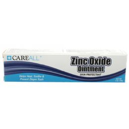 144 Units of Careall 1 Oz. Zinc Oxide Ointment - First Aid and Bandages