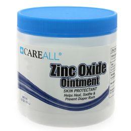 24 Units of CareALL 15 oz. Jar Zinc Oxide Ointment - Skin Care