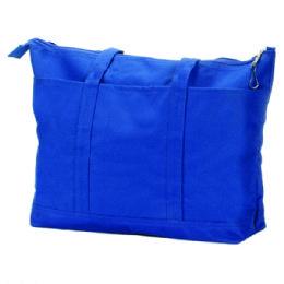 24 Units of Navy Canvas Diaper Bag - Baby Diaper Bag