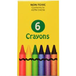 360 Units of 6 Pack Of Crayons - Crayon