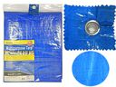 12 Units of Multipurpose Tarp 9ftx12ft Blue - Tarps