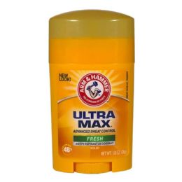 48 Units of Travel Size Arm Hammer Ultramax Antiperspirant 1.0 oz. - Deodorant