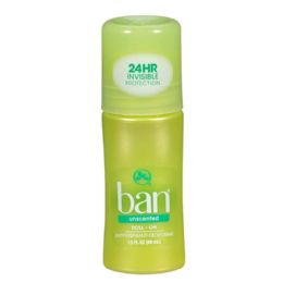 48 Units of Ban Unscented RollOn Deodorant 1.5 oz. - Deodorant