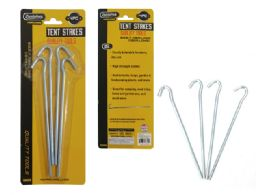 72 Units of 4pc Tent Stakes - Camping Gear