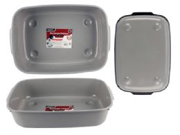 24 Units of Rectangle Dishpan - Frying Pans and Baking Pans