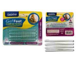 144 Units of Gel Foot Cushion Thin Strips - Footwear Accessories