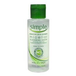 48 Units of Cleansing Water Simple Micellar Cleansing Water - Skin Care