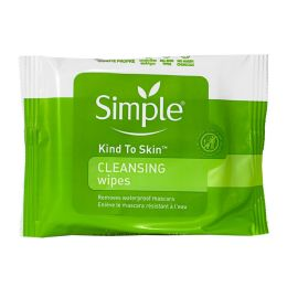 36 Units of Simple Sensitive Skin Cleansing Facial Wipes Pack Of 7 - Skin Care