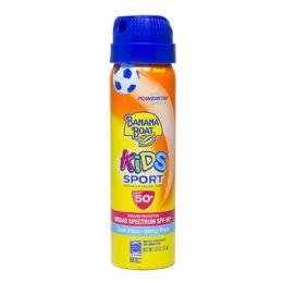 24 Units of Sport Sunscreen Banana Boat Kids Sport Spray Sunscreen Spf 50 1.8 oz. - Skin Care