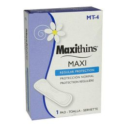 200 Units of Maxthins Maxi Regular Pad Travel Size Box Of 1 - Personal Care