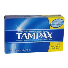 24 Units of Tampax Regular Tampons Box of 10 - Personal Care