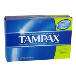24 Units of Tampax Super Tampons Box of 10 - Personal Care