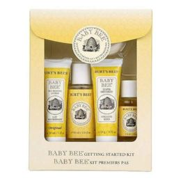 9 Units of Burts Bees Baby Bee Getting Started Kit - Baby Beauty & Care Items