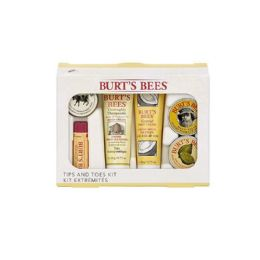 9 Units of Burts Bees Tips and Toes Kit 6 Piece Gift Kit - Skin Care