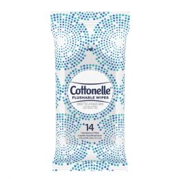 72 Units of Cottonelle Flushable Moist Wipes Pack Of 14 - Personal Care