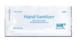 144 Units of HR Hand Sanitizer 3 g Packet - Hand Sanitizer