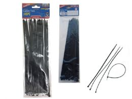 144 Units of 40pc Black Cable Ties - Cable wire