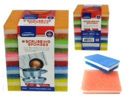 24 Units of 5pc Scrubber Sponges - Scouring Pads & Sponges