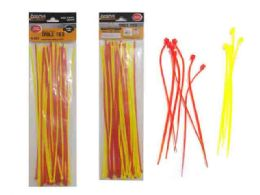 96 Units of 40pc Assorted Color Cable Ties - Cable wire