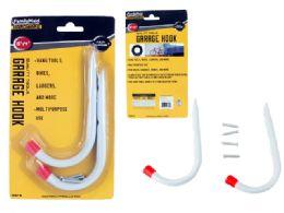 48 Units of 2pc Garage Hook Set - Hooks