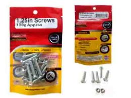 96 Units of Bolts & Nuts 6 X 30mm 120g - Drills and Bits