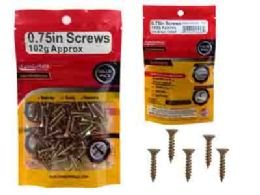 96 Units of Multipurpose Screws 3.5 X 20mm 102g - Drills and Bits