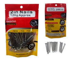 "96 Units of Multipurpose Nails 2""L 120g - Drills and Bits"