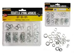 72 Units of Spring Washers 92pc - Drills and Bits
