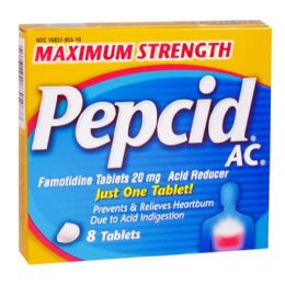 12 Units of Pepcid Complete Box Of 8 - Pain and Allergy Relief