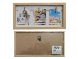 24 Units of 3 Clips Photo Frame - Frame