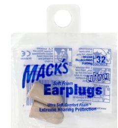 200 Units of Soft Earplugs Mack's Ultra Soft Earplugs - Earplugs