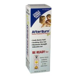 18 Units of After Burn Gel - After Burn Gel With Aloe 2 oz - First Aid and Bandages