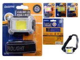 144 Units of Cob Headlight - Biking
