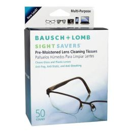 600 Units of Bausch And Lomb Sight Savers Tissues Pack Of 1 - Eye Wear Gear