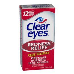 24 Units of Clear Eyes Drops 0.5 Oz. - Eye Wear Gear