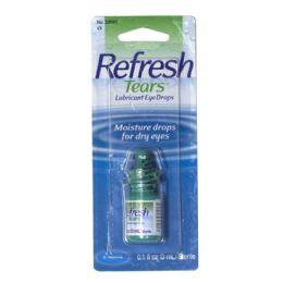 36 Units of Lubricant Eye Drops - Refresh Tears Lubricant Eye Drops 0.1 Oz. - Eye Wear Gear
