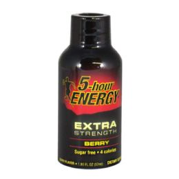 24 Units of Energy Drink - 5 Hour Extra Strength Energy Drink - 1.93 oz. - Pain and Allergy Relief