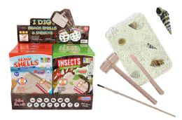 16 Units of EXCAVATION TREASURE KIT (BEACH SHELLS & INSECTS) - Toys & Games
