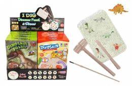 16 Units of Excavation Treasure Kit (Dinosaur Fossils & Dinosaurs) - Toys & Games