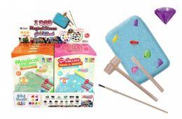 16 Units of Excavation Treasure Kit (Magical Stones & Princess Jewels) - Toys & Games