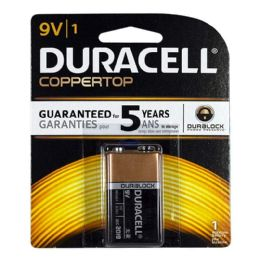 12 Units of Duracell 9V Battery - Duracell Coppertop 9V Battery - Batteries