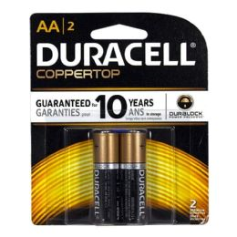 28 Units of Duracell Coppertop AA - Batteries