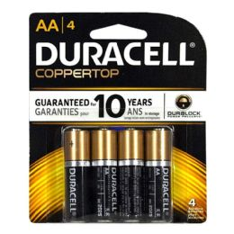 14 Units of Duracell Coppertop AA Card of 4 - Batteries
