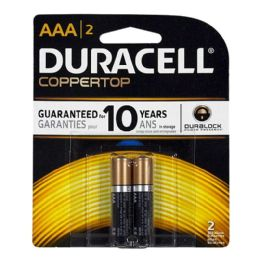 14 Units of Duracell Coppertop AAA Card Card of 2 - Batteries
