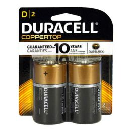 12 Units of Duracell D Battery - Duracell Coppertop D Batteries Card Of 2 - Batteries