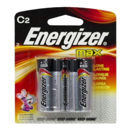 18 Units of C Batteries - Energizer Max C Batteries - Batteries