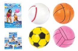 "36 Units of 16"" Beach Sport Ball - Beach Toys"